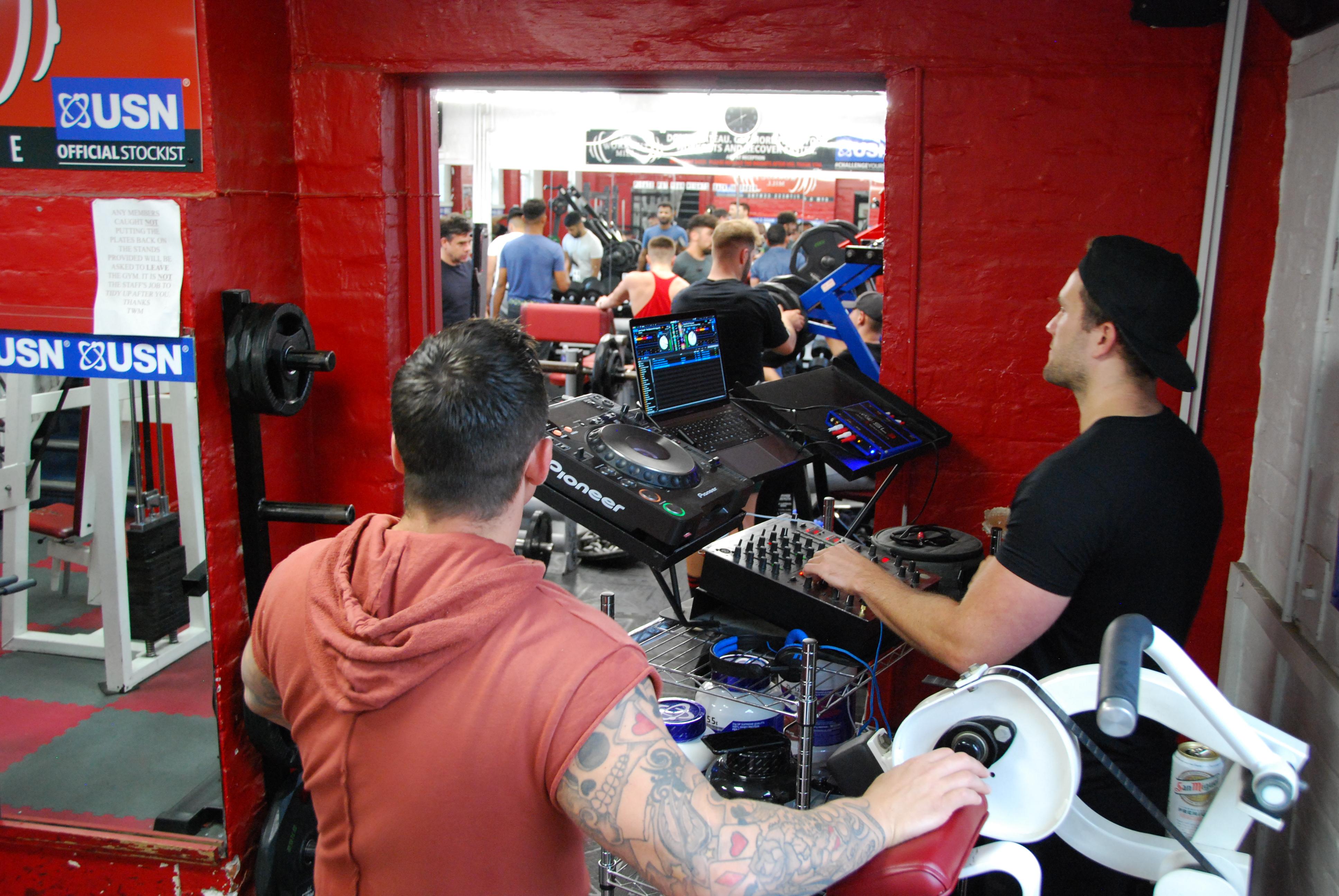 Resident DJs - Lucas Maverick and Ben Mackey